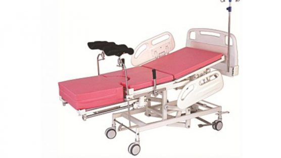 Hydraulic Obstetric Bed